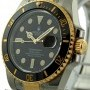 Rolex Stainless Steel  Yellow Gold Ceramic 40mm