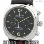 Panerai Radiomir Chronograph Steel 42mm Black Dial