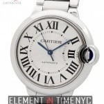 Cartier Ballon Bleu Mid-Size 36mm Stainless Steel Automati