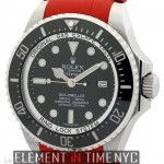 Rolex Deepsea Stainless Steel 43mm Red RubberB