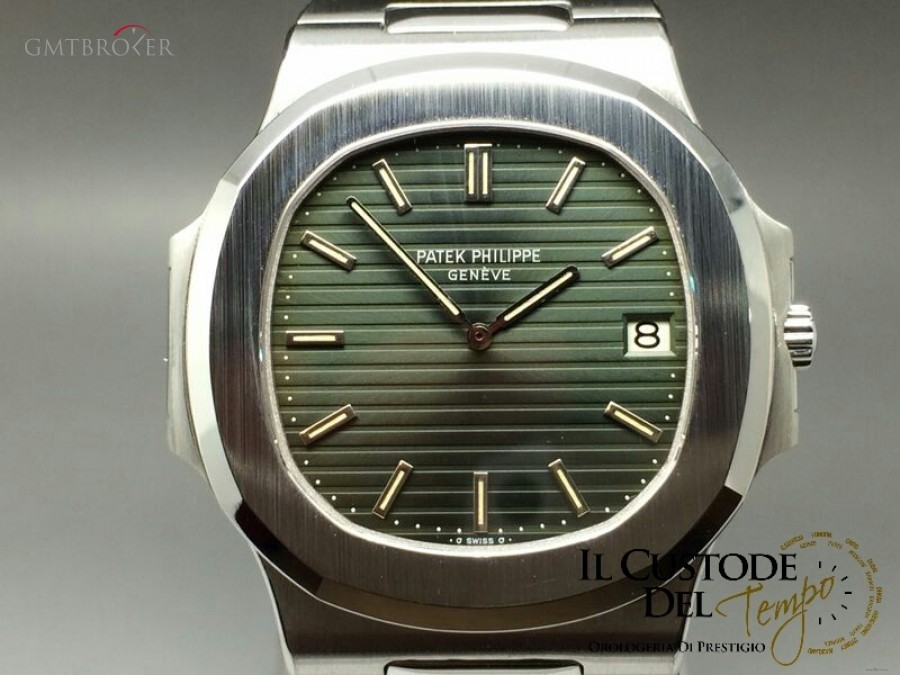 Patek Philippe Nautilus Ref 37001a Green Dial Photo 1 On Gmtbroker
