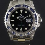 Rolex Gmt-Master II Sapphires and diamonds