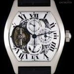 Cartier Platinum Prive Tortue Tourbillon Perpetual Calenda