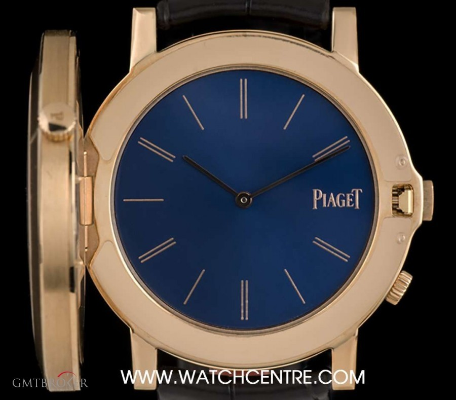 ddbc27ff327 Piaget 18k Rose Gold Altiplano Double Jeu Gents NOS BP G0