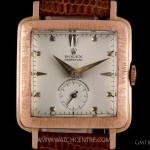Rolex 18k Rose Gold Perpetual Cream DialVintage Gents Wr