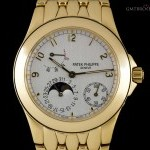 Patek Philippe Neptune Gents 18k Yellow Gold Silver Dial 50851J-0