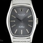 Breguet 18k White Gold Silver Baton Dial Cellini Ladies Wr