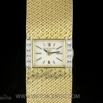 Patek Philippe 18k YG Diamond Bezel Vintage Ladies Watch 33191