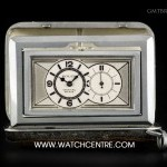 Cartier Nickel Sporting Prince Chronometer Vintage Travel