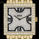 Chopard 18k Yellow Gold Fully Loaded Gents Mother Of Pearl