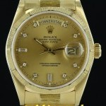 Rolex Day-Date 18078 18K Yellow Diamond