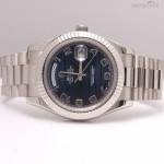 Rolex Day date 218239 blue waves