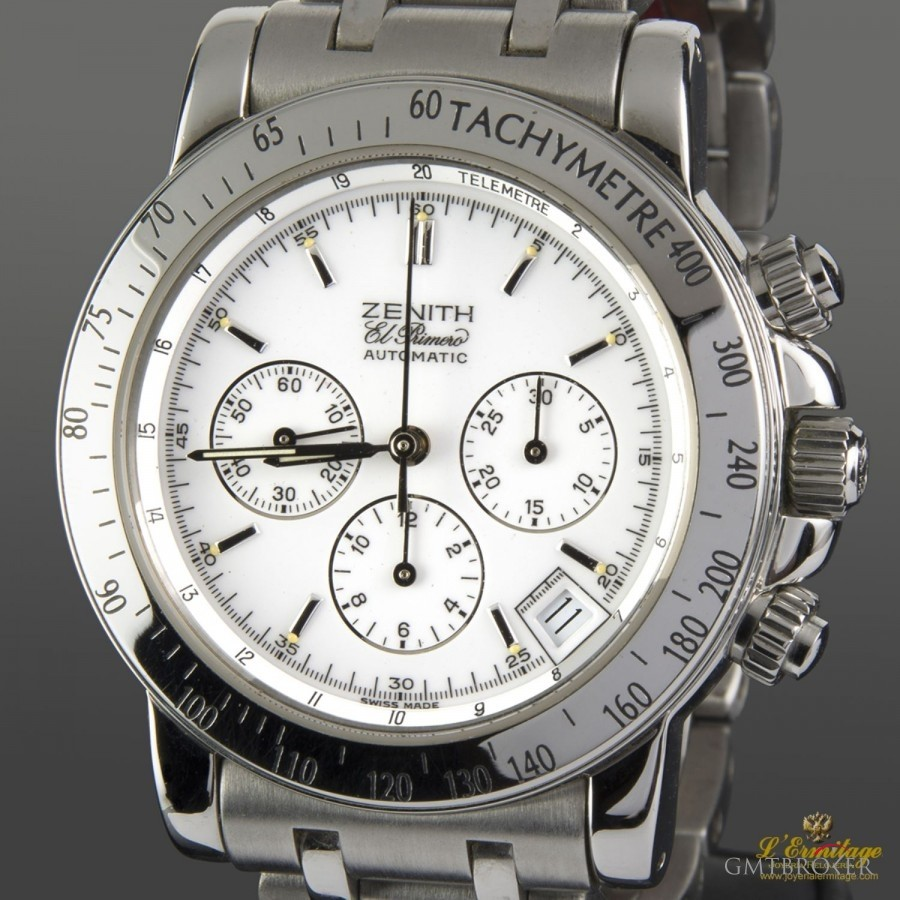zenith el primero rainbow chronograph photo 2 on gmtbroker. Black Bedroom Furniture Sets. Home Design Ideas