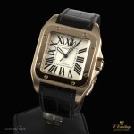 Cartier SANTOS 100 ROSE GOLD