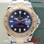 Rolex YACHT MASTER STEELGOLD 16623 BLUE FULL SET 2010