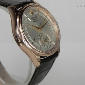 Rolex CELLINI DUAL TIME ROSE GOLD 50525-0004 75669