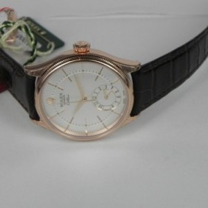 Rolex CELLINI DUAL TIME ROSE GOLD 50525-0004 75673