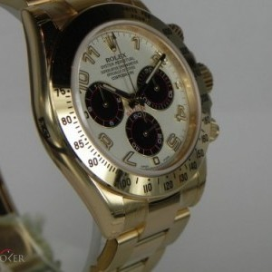 Rolex DAYTONA YELLOW GOLD PANDA DIAL 116528 78431