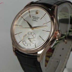 Rolex CELLINI DUAL TIME ROSE GOLD 50525-0004 75671