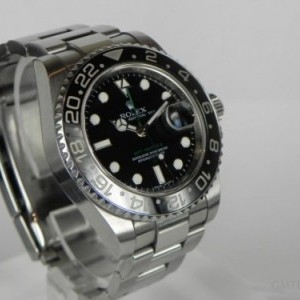 Rolex GMT MASTER II CERAMIC SERIAL M BP 116710LN 78617