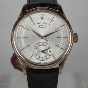 Rolex CELLINI DUAL TIME ROSE GOLD 50525-0004 75667