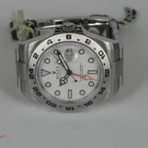 Rolex EXPLORER II WHITE DIAL BP 216570 78461