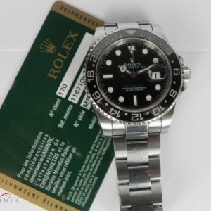 Rolex GMT MASTER II CERAMIC SERIAL M BP 116710LN 78625