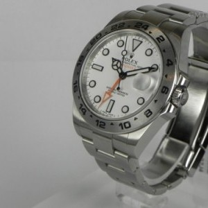 Rolex EXPLORER II WHITE DIAL BP 216570 78459