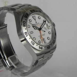 Rolex EXPLORER II WHITE DIAL BP 216570 78457