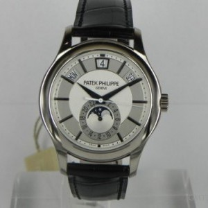 Patek Philippe ANNUAL CALENDAR MOON PHASE WHITE GOLD 5205G 76101