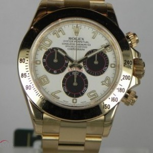 Rolex DAYTONA YELLOW GOLD PANDA DIAL 116528 78429