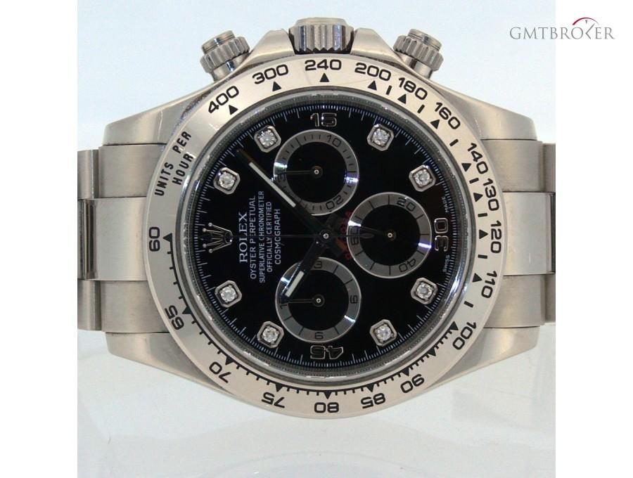 grande vendita 84211 80aed Rolex Daytona Oro Bianco Diamanti 116509, Photo 4 on Gmtbroker