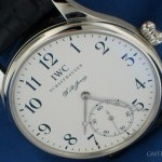 IWC Portoghese Jones platino ref IW5442-02