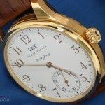 IWC Portoghese Jones ref IW5442 oro rosa