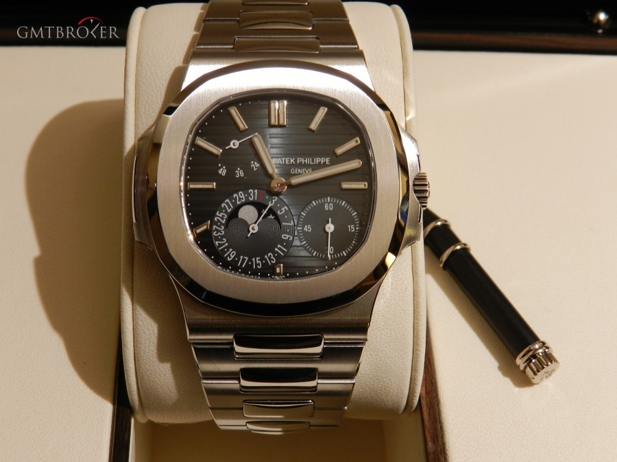 Patek Philippe Nautilus Ref57121a Fasi Lunari Photo 1 On Gmtbroker