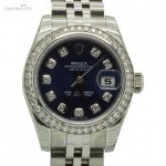 Rolex Datejust Ref.179384 Blue Dial Full set