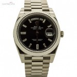 Rolex Day Date Ref. 228239 White Gold