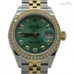 Rolex Datejust Ref.279383RBR Green Dial Full set