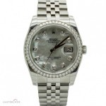 Rolex Datejust Ref.116244 Nacre Dial Full set