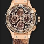 Hublot Big Bang Boa Bang Oro Marrone