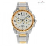Cartier De Calibre W7100042 Steel  18K Rose Gold Automatic