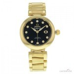 Omega DeVille Ladymatic 42560342051002 18K Yellow Gold A