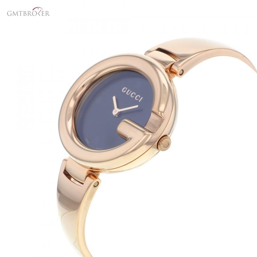 d9303983b2a Gucci Ssima YA134305 Rose Gold PVD Quartz Ladies Watch