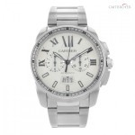 Cartier Calibre de  W7100045 Stainless Steel Automatic Men