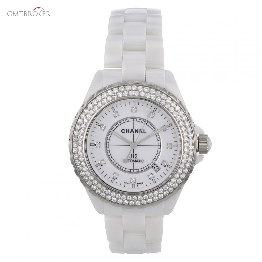 7d5c7a54b0 Chanel - J12 H2013 Original Diamonds Automatic Womens Watch - GmtBroker