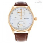 IWC Portuguese Regulateur IW544402 18K Rose Gold Manua