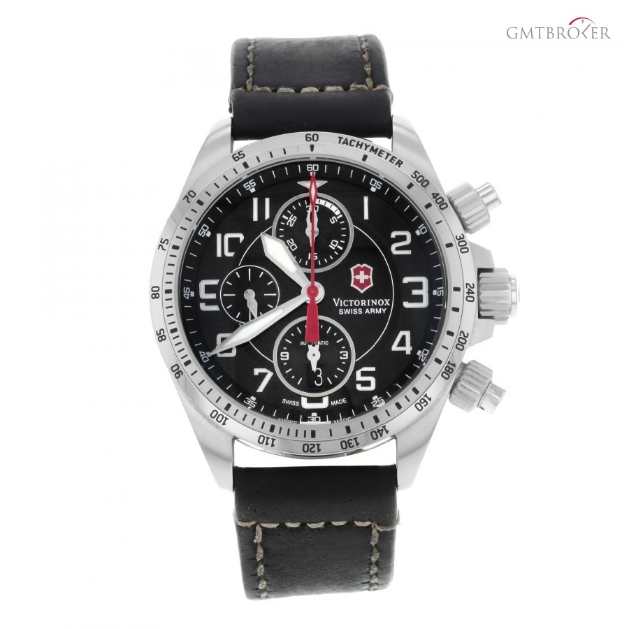Victorinox Swiss Army Chronograph 241451 Stainless Steel Automatic Mens