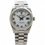 Rolex Day-Date White Gold Men8217s Presidential Watch