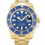 Rolex SUBMARINER 116618 LB GOLD BLUE DIAL MEN8217S WATCH