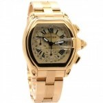 Cartier Roadster XL Chronograph W62021Y2 18K Yellow Gold M